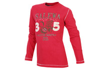 Salewa Brogan CO Kid&#039;s L/S Tee red